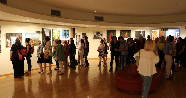 Αμείωτο το ενδιαφέρον του κόσμου για την έκθεση ζωγραφικής του Εργαστηρίου Ζωγραφικής Δήμου Πύργου