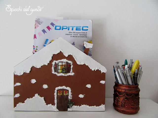 gingerbread house per Natale