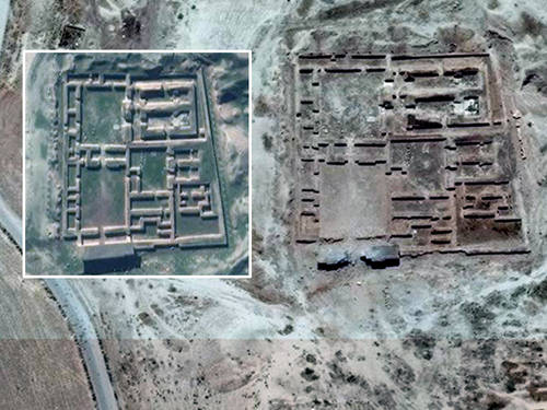 Islamic State blows up Assyrian Temple of Nabu in Iraq