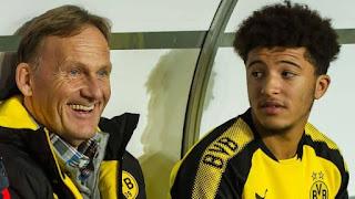 Jadon will play with us for the 2020/21 season: Dortmund chief Watzke