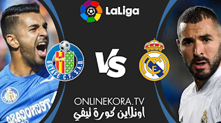 مشاهدة مباراة  ريال مدريد وخيتافي بث مباشر اليوم 18-04-2021 في الدوري الإسباني الدرجة الأولى