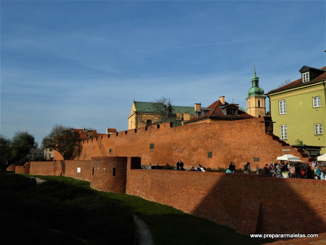 Barbacana, uno de los lugares que hay que ver en Varsovia