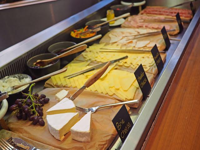 Radisson Blu Review Birmingham City Centre Hotel Breakfast Menu