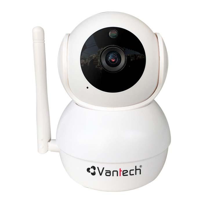Bán Camera Wifi VANTECH VT-6300C 2MP Quay ngang 355º Chính Hãng Tại Bến Tre