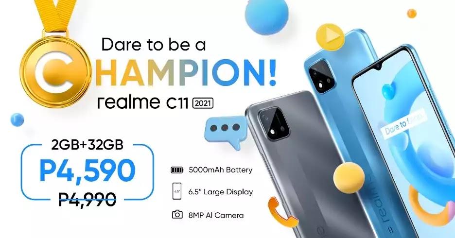realme C11 2021 Price Drop