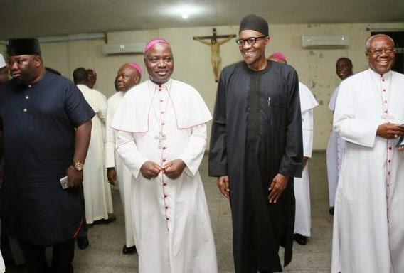buhari catholic priest abuja