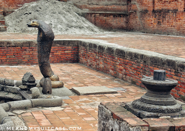Naag Pokhari of Bhaktapur Durbar Square