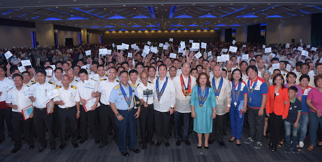 SM Gloal Pinoy And MARINA Celebrate The Filipino Seafarer