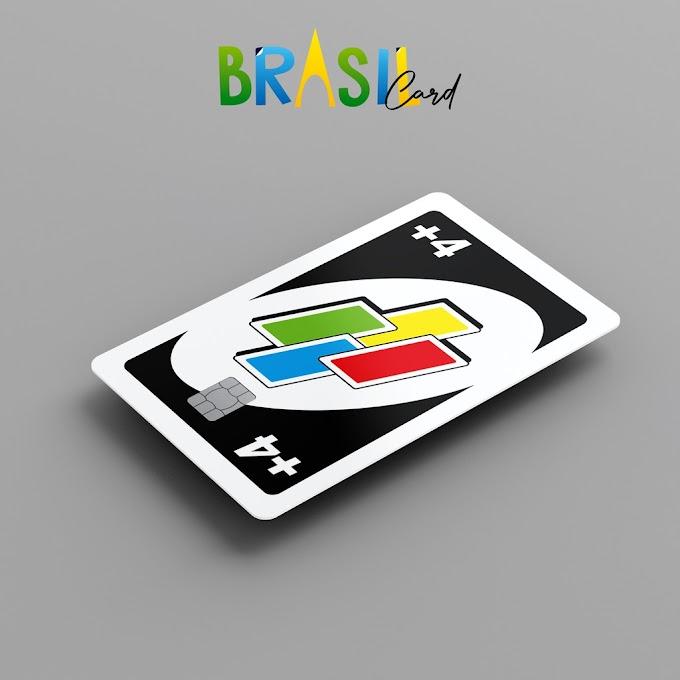 Adesivo para Cartão de Crédito +4 Uno