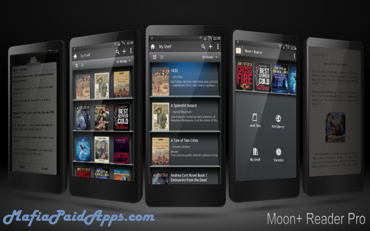 Moon+ Reader Pro v4 0 2 build 402004 (Patched/Modded) Apk