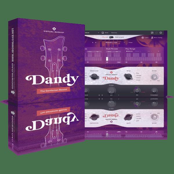 UJAM Virtual Bassist DANDY v2.1.1 Full version