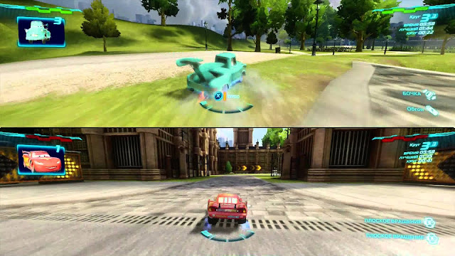 Cars 2: The videogame - Xbox 360 - Multi5 - Captura 4