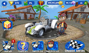 Beach Buggy Racing Mod Apk Terbaru 2017 v1.2.13 (Mod Money)