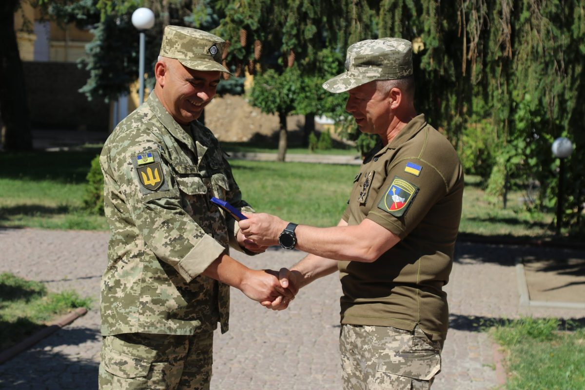 нового командувача – генерал-майора Андрія Ковальчука
