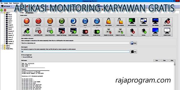 Aplikasi Monitoring Karyawan Classroomspy