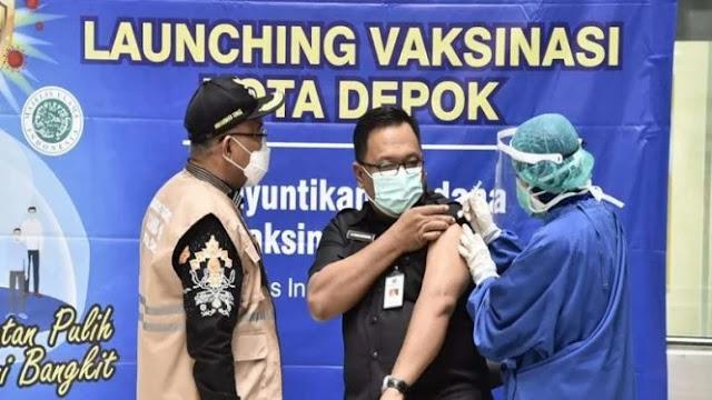 Usai Disuntik Vaksin, Wakil Wali Kota Depok Terpapar COVID-19