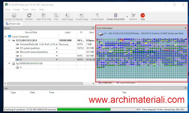 Proses Scanning File sedang berlangsung. Sabar ya menunggunya!