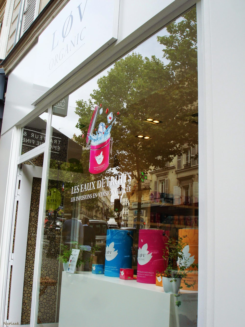 la boutique  Lov Organic du 9eme arrondissement de Paris