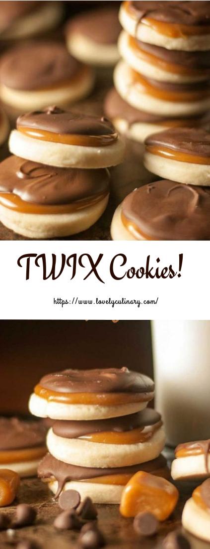 TWIX Cookies #cookierecipe #desserts
