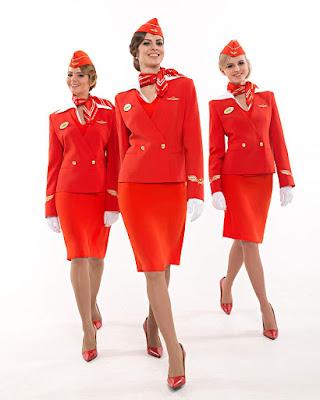 Flight Attendance Cabin Crew Pramugari cewek manis rok mini rapi