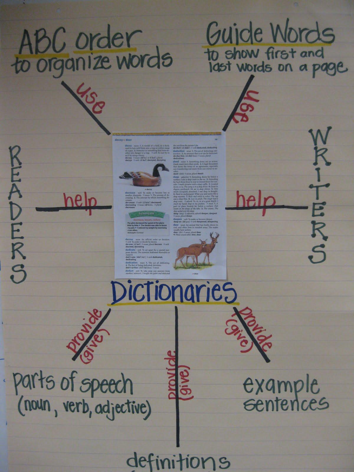 Third Grade Thinkers Using Dictionaries In Third Grade