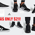 Men's Adidas Sneakers Only $21 + Free Shipping and Free Shipping Back on Returns