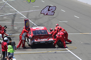 Larson Mistake Costly At Sonoma
