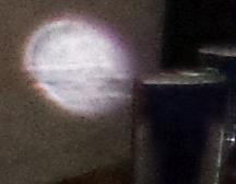 speeding striped orb