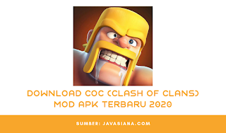 Download COC Mod Apk Terbaru 2020 Bisa War Untuk Android dan IOS