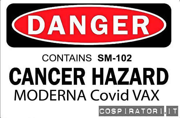 Vaccino Covid Moderna contiene sostanza cancerogena