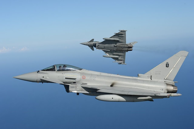 Italian Eurofighter Typhoon surplus Croatia