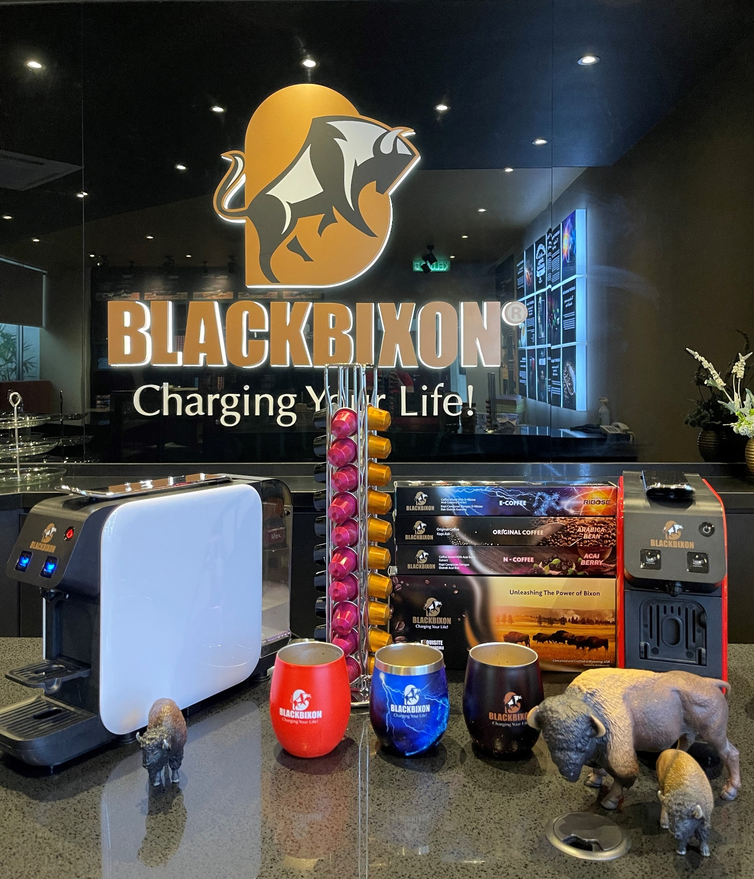 BlackBixon™: First Energy and Nutritional Coffee Capsules with health benefits for consumers