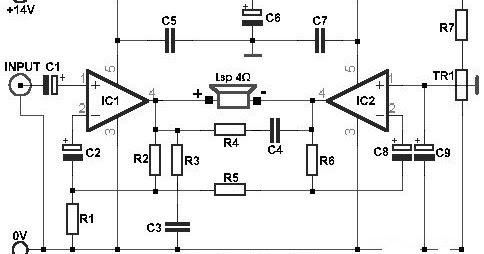 P Schematic Diagram Speaker Speaker Wire Diagram Wiring