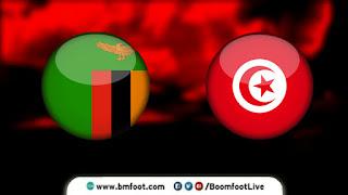 مشاهدة مباراة تونس وزامبيا بث مباشر اليوم 7-9-2021 في تصفيات كأس العالم