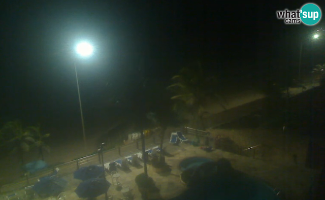 Praia da Ponta Negra câmera ao vivo