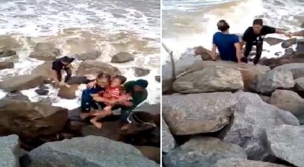 Budak Ini Beritahu Kaki Seperti Ditarik Seseorang Ke Dalam Laut Tetapi Sebenarnya Ini Yang Berlaku