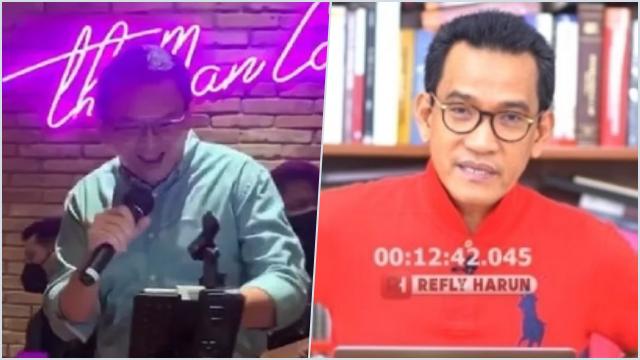 Raffi-Ahok Berpesta, Refly: Mungkin Merasa Anak Emas Negara, Sehingga tak Akan Diapa-apakan