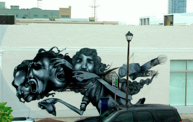 Мрачные рисунки на стенах. Ethos 5