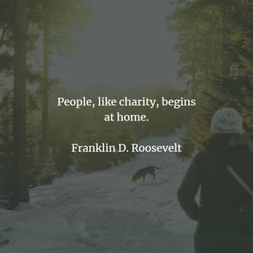 Famous quotes and sayings by Franklin Roosevelt