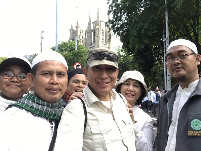 Usai Ikuti Misa di Gereja Katedral, JS Prabowo Datang di Reuni 212: Suasana Penuh Kesejukan