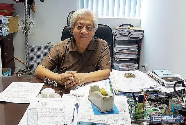Giáo sư Phạm Tất Dong không bất ngờ với mức giá 1 tỷ đồng để chạy điểm