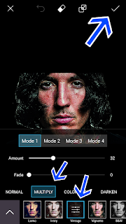 Edit Foto Efek Low Key Android