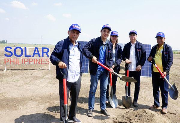Solar Philippines Breakground 150 Megawatt Solar Farm in Tarlac, Philippines