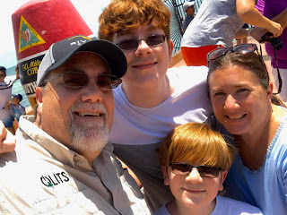 A photo of David Brodosi and family in Key West