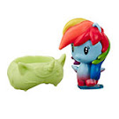 MLP Blind Bags, Confetti  Rainbow Dash Pony Cutie Mark Crew Figure
