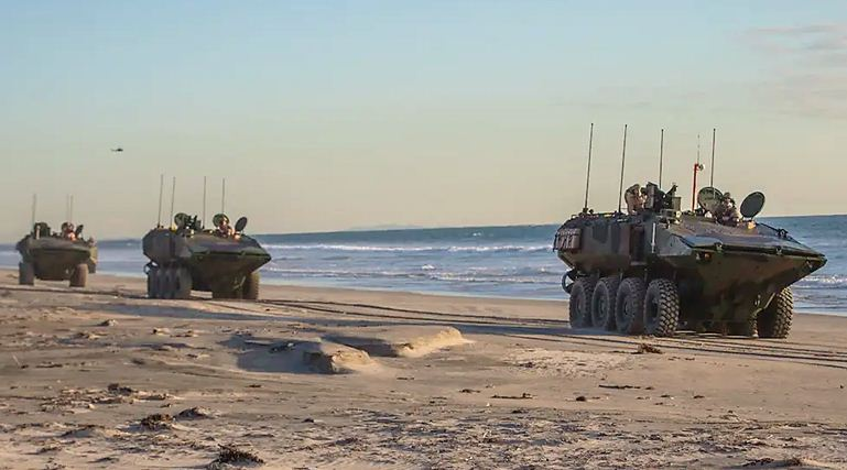 New Marine Amphibious Combat Vehicle