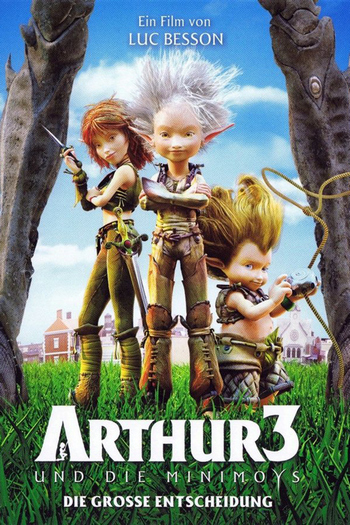Arthur 3: The War of the Two Worlds (2010) อาร์เธอร์ 3 ศึกสองพิภพมหัศจรรย์