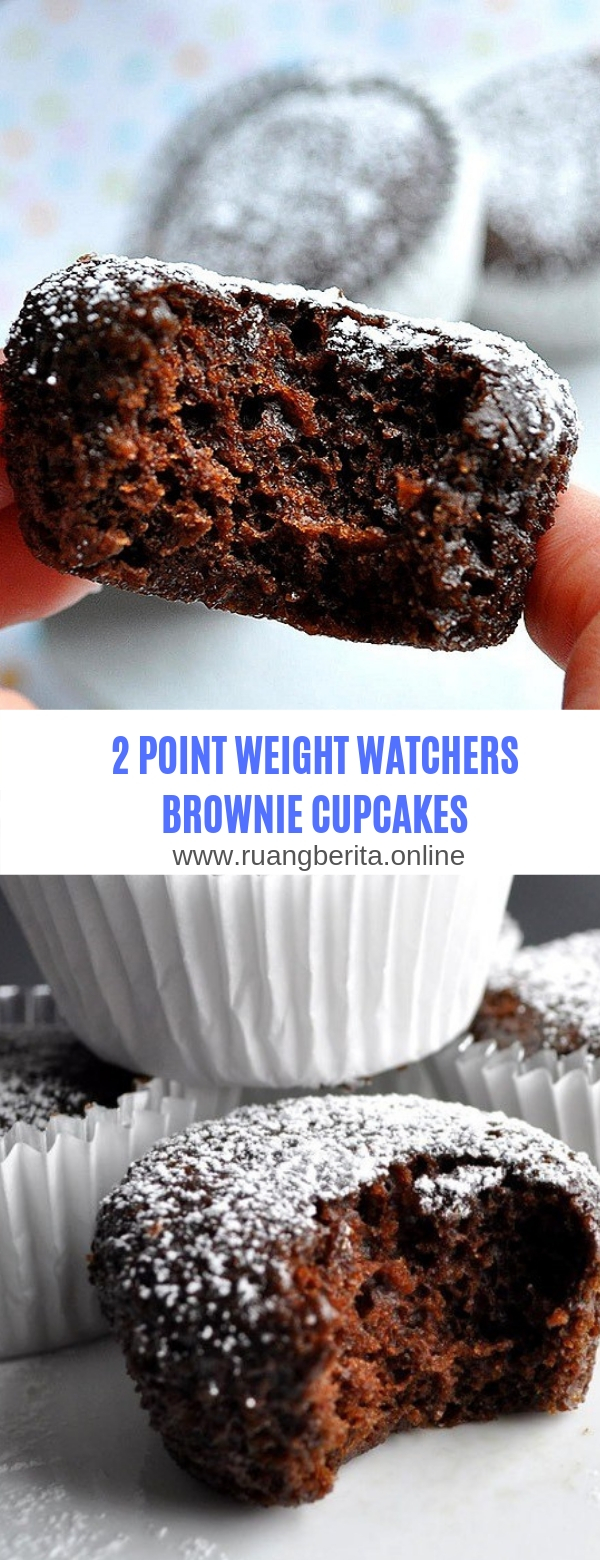 2 POINT WEIGHT WATCHERS BROWNIE CUPCAKES