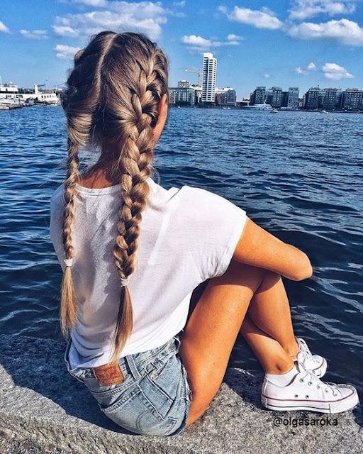 French braids for girls