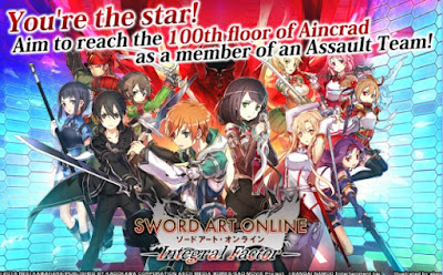 Sword Art Online Integral Factor APK MOD English v 1.0.2 Free Android